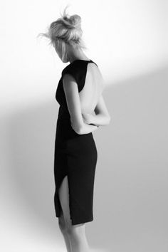 Black Dress + open back