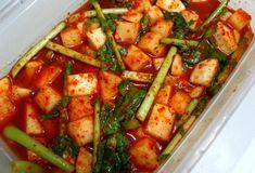여름 김치로 최고!! 백종원 깍두기 맛있게 담그는 비법 Korean Food, Kung Pao Chicken, Zucchini, Vegetables, Cooking, Ethnic Recipes, Kitchen, Korean Cuisine, Vegetable Recipes