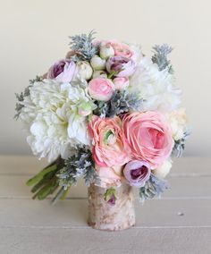 Rustic Silk Bridal Bouquet NEW 2014 Design by Morgann Hill Designs on Etsy, $110.00