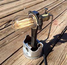 Piston Desk Lamp by tcgAZ on Etsy