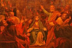 Jesus e a Multidão V  No evento de pentecostes, a multidão também aparece como protagonista relevante. Era composta de judeus piedosos vindos de todas as nações debaixo do céu: partos, medos, elamitas e os naturais da Mesopotâmia, Judeia, Capadócia, Ponto e Ásia, da Frígia, da Panfília, do Egito e das regiões da Líbia, romanos, judeus, prosélitos, cretenses e arábios. Foi para ela que o Espírito concedeu aos que estavam reunidos que falassem em outras línguas.