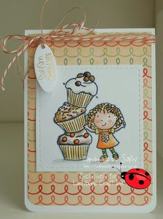 Cupcake Cutie fro Ladybug Crafts Ink x