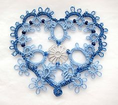 Blue tatting