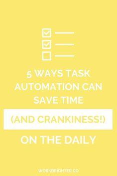 5 Ways Task Automati