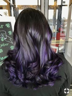 Purple ombre hair short, purple balayage, lilac hair, grey hair with Lilac Hair, Hair Color Purple, Cool Hair Color, Green Hair, Ombre Hair, Balayage Hair, Purple Ombre, Grey Hair With Purple, Purple Hair Styles