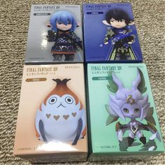 Final Fantasy XIV Minion Figure vol.2 x4 Aymeric Haurchefant Garuda Paissa F/S #TAITO