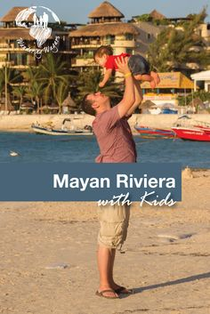 The Riviera Maya in Mexico has a lot to offer for families from beaches to ruins, there is a lot to explore.