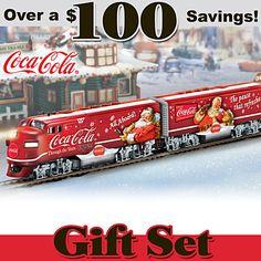 COCA-COLA Through The Years Express Train Set