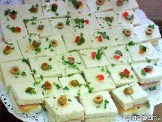 bocaditos salados para buffet - Buscar con Google