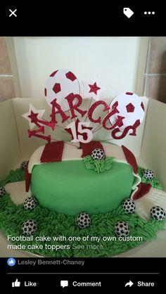 Notts forest fan football cake