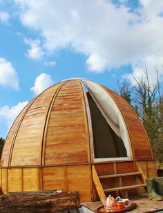 """Dorset Glamping: Yurt, Tipi, Pods, Bell Tent,Airstream. Read more via """"Camping News"""""""