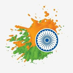Splatter Splash Of Independence Day India With Chakra Vector and PNG Indian Independence Day Images, Happy Independence Day India, Independence Day Wallpaper, Happy 15 August, 15. August, Splash Vector, Brush Effect, Brush Vector, Republic Day Photos