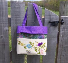 Tote Bag Purse Mother's Day Gift Vintage by GreenbriarCreations, $34.00
