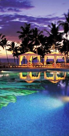 Are you considering Hawaii for your honeymoon? Check this out....With nine pools, this #Maui resort is sure to impress. #Hawaii