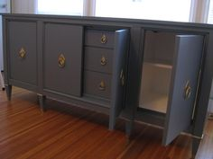 LOVE! Refinished Credenza