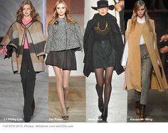 images of women's fall fashions | Fall fashion trends 2010: capes and ponchos