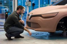 Portrait of Yann Jarsalle - Designer. Relive the birth of New Renault #Clio behind the scene of #Renault #Design. (c) J-C Mounoury - Droits réservés Renault