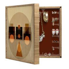Viviana Gonzalez Geometric Abstract 2 BlingBox Petite | DENY Designs Home Accessories