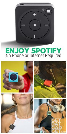 Break free from your phone with Mighty, the first device to play your Spotify music without a phone. Lightweight and durable, it's the perfect companion for your life on-the-go. #GetdatGadget #Spotify #AmazonMusic #MusicPlayer #Vibe #Music Audio Music, Break Free, Played Yourself, Audio Equipment, Computer Accessories, Mp3 Player, Amazon, Phone, Computers