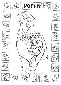 Disegni da colorare per bambini. Colorare e stampa La carica dei 101 3