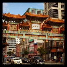 Check out a plethora of Chinese restaurants and the Friendship Arch at the corner of 7th and H Streets NW. Also stop by Tony Cheng's for dim sum.