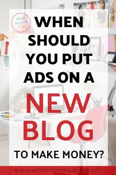 Right after you start a blog, the easiest way to make money FAST is to put ads on your blog. It's not as hard as you think to get started! Ad income can give you immediate extra cash as you grow your blog presence. Use these tips as you plan out your new blog plan. This girls teaches you how to make money blogging with ads + affiliates, products + more! | blogging for money, entrepreneur ideas, extra cash from home for stay at home moms