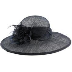 Chapeau Mariage Marine Jewel en paille Sisal #chapeaumariage #mariage #mode #fashion sur votre boutique Mariage Hatshowroom.com