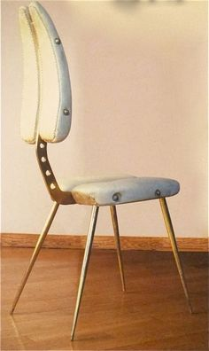 Carlo Mollino  L & L Licitra Ponti House  (Gio Ponti's daughter, these chairs were a wedding gift)  6 pieces  1950