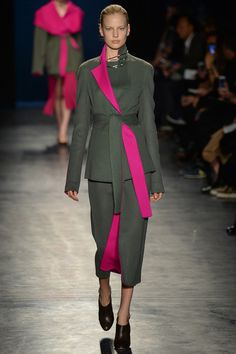 Altuzarra, khaki and pink is my big trend prediction for the season