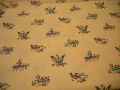 Duck, Duck, Goose Fabric or Yardage by RJR Fashion Fabrics Antique Conversationals on Etsy, $4.50