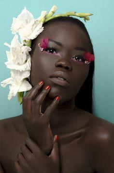 Photography by Thandiwe Muriu | Model Anok Kuol | MUA Sinitta Akello