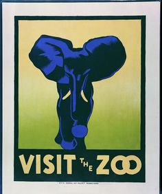 From the Library of Congress' WPA poster collection.