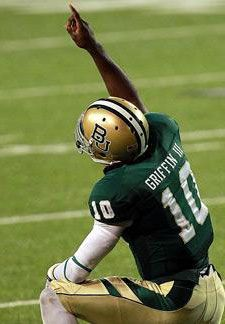 Robert Griffin III, the newest Heisman winner. I'm so blessed to go to such a wonderful university!