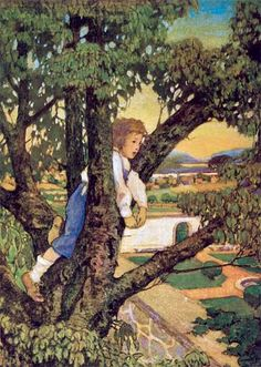 "A cross-group collection of our products related to the topic of ""Illustrator: Jessie Willcox Smith"" American Illustration, Children's Book Illustration, Classic Paintings, Nature Tree, Vintage Postcards, Jessie, Illustrators, Trees, Vintage Illustrations"