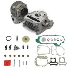 GY6 100cc 50cc 139QMB 50mm Big Bore Performance Cyinder Kit Chinese Scooter Parts  Worldwide delivery. Original best quality product for 70% of it's real price. Buying this product is extra profitable, because we have good production source. 1 day products dispatch from warehouse. Fast...