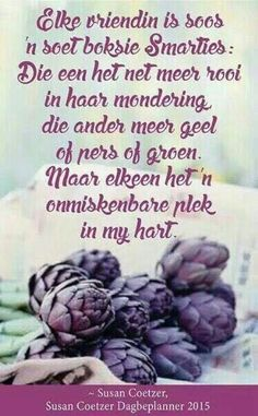 Vriendin.... Inspirational Qoutes, Motivational Words, Sea Quotes, Love Quotes, Afrikaanse Quotes, Goeie More, Friendship Poems, Positive Thoughts, Christian Quotes
