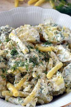 Sałatka ziemniaczana z fasolką szparagową – Smaki na talerzu