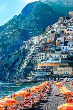 Heaven or Earth? Positano, Amalfi Coast, South Italy - The place that will test your senses... #Amalfi-Coast #Italy #Holiday