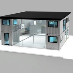 Build Container Home 291748882112663808 - Dwell Containers Design Build Consulting…create your own custom design! New commercial and mixed… Source by alprocsarl Shipping Container Buildings, Shipping Container Home Designs, Building A Container Home, Storage Container Homes, Container Cabin, Container Shop, Cargo Container, Container Architecture, Architecture Design