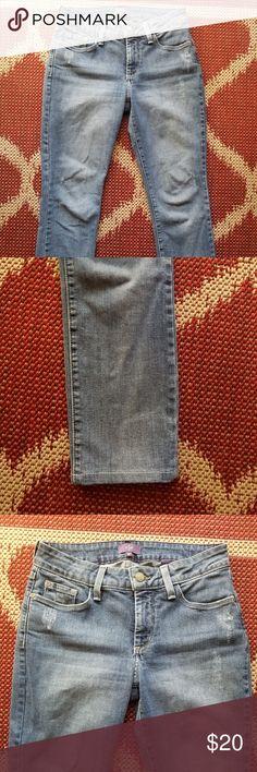 NYDJ boyfriend jeans lightwash  25 inseam NYDJ Jeans Boyfriend