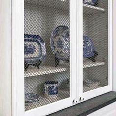 Creative Kitchen Cabinet Ideas: Unique Materials