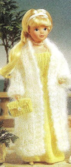 114 Best Knitting Patterns For Barbie Dolls Images On Pinterest In