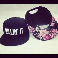 killin' it floral hat
