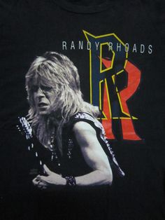 Vintage Randy Rhoads Ozzy Osbourne Quiet Riot T by Voodoobundle, $125.00