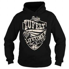 Awesome Tee Team ZUFELT Lifetime Member (Dragon) - Last Name, Surname T-Shirt T shirts