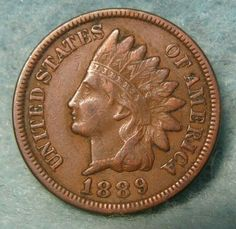 1906 Indian Head Cent Penny AU Almost Uncirculated / AU Almost Uncirculated Full Liberty Near 4 Diamonds. Old Coins Worth Money, Old Money, Us Coins, Rare Coins, Penny Values, Numismatic Coins, Valuable Coins, Valuable Pennies, Rare Pennies