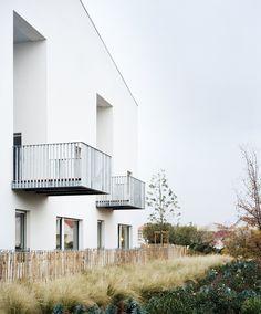"""100 logements """"Le Mess"""", La Rochelle (17), France, 2016. - RAUM"""