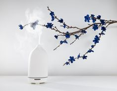 Vitruvi DIFFUSERS // Hand crafted porcelain diffuser inspired by intentional living and a love of creative spaces. Designed and made in Japan out of the highest quality porcelain. Breakfast In Bed, Diffusers, Architecture Photo, White Stone, Art Object, Wabi Sabi, Oil Diffuser, Nifty, Aromatherapy