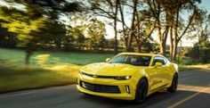 Right-Hand Chevy Camaro is Yours, if You Want It