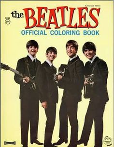 I wish I had this coloring book now. Can you imagine how much it's worth??